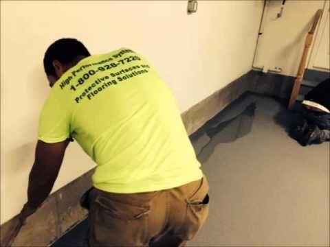 Decorative Epoxy Flooring: A Colored Quartz Garage Floor