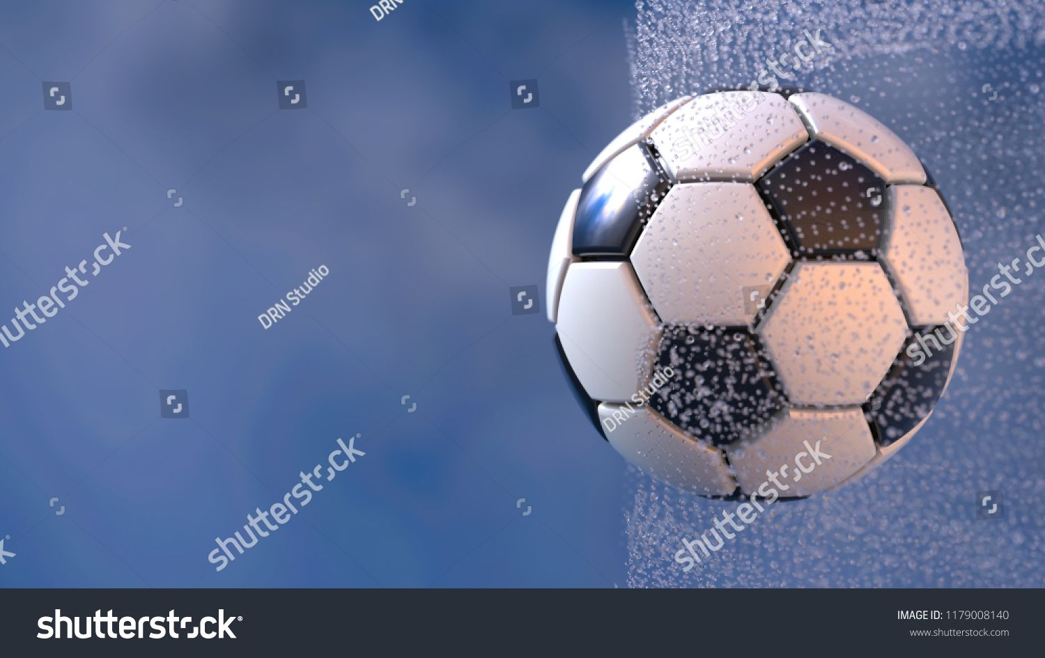 Download Soccer Ball With Water Splash 3d Illustration 3d High Quality Rendering Ad Ad Water Splash Soccer Ball Photo Editing Stock Photos Soccer Ball