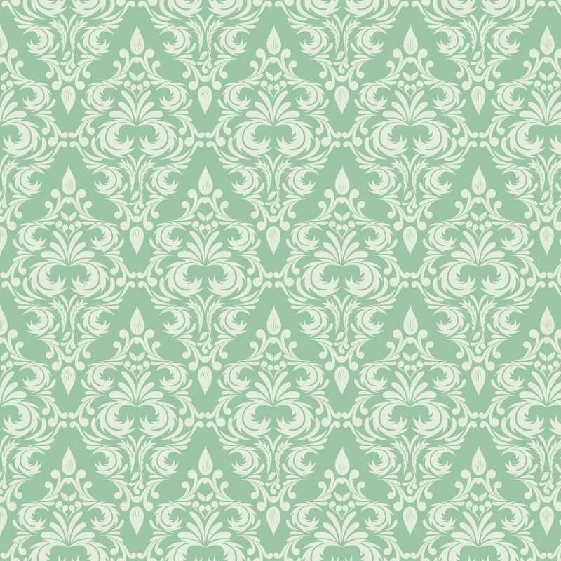 Papel de parede verde pintura papel de parede - Papel pared vintage ...