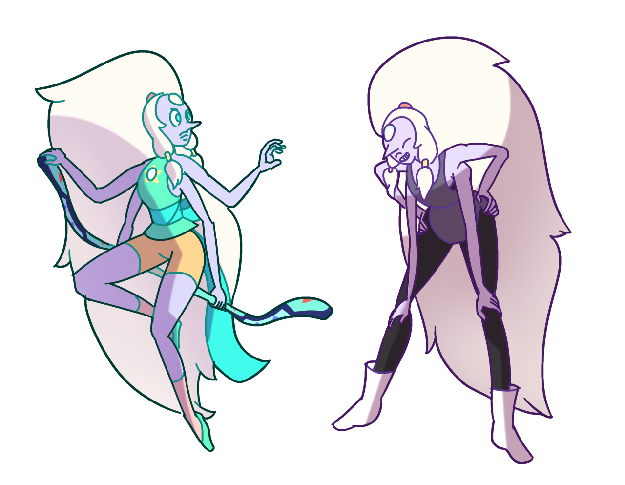 Opal in her gems clothing! | Steven Universe | Pinterest ...