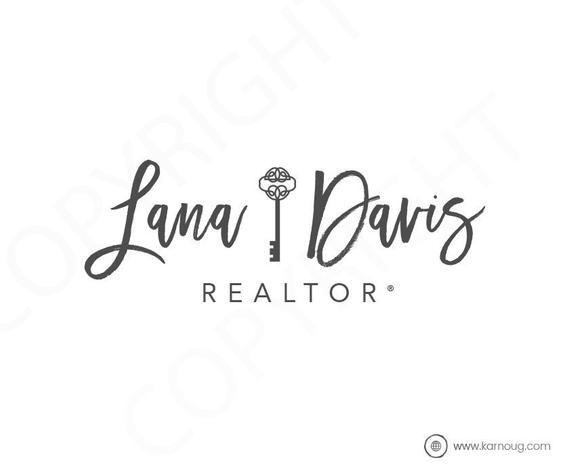 House Logo Real Estate Logo Realtor Logo initial Premade Logo