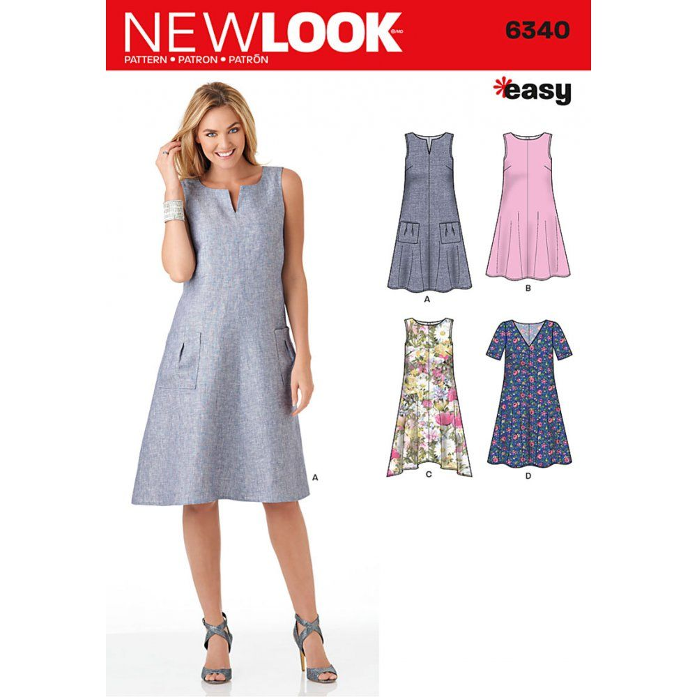 easy pinafore knit dress sew - Google Search | quilting and sewing ...