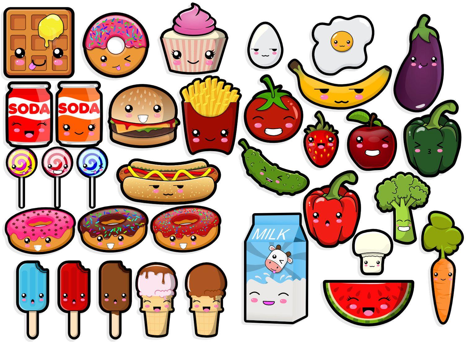 Kawaii Food Steve Champagne Pegatinas Kawaii Garabatos Kawaii Dibujos Kawaii