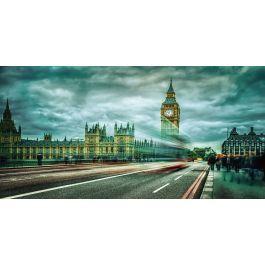 Glas schilderij London 160x80   Steden Schilderijen   Big
