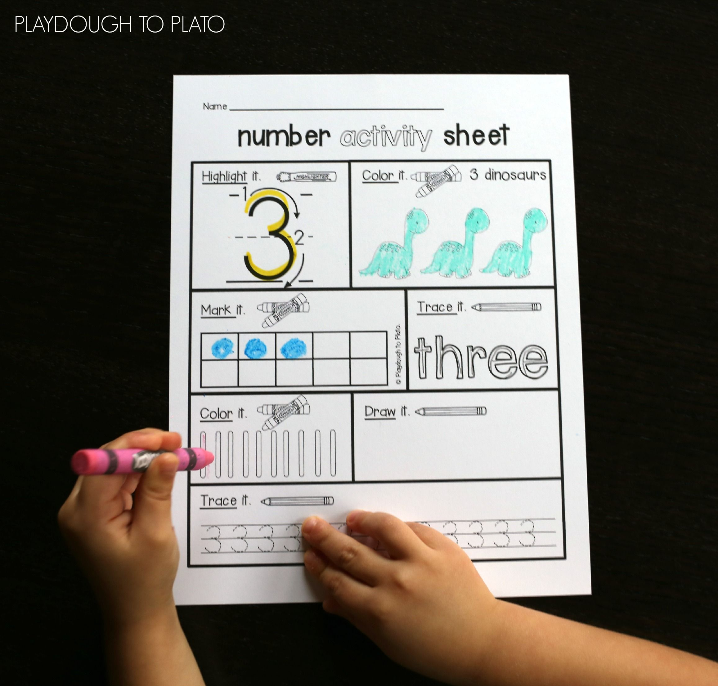Number Activity Sheets   Number activities, Activities and Number