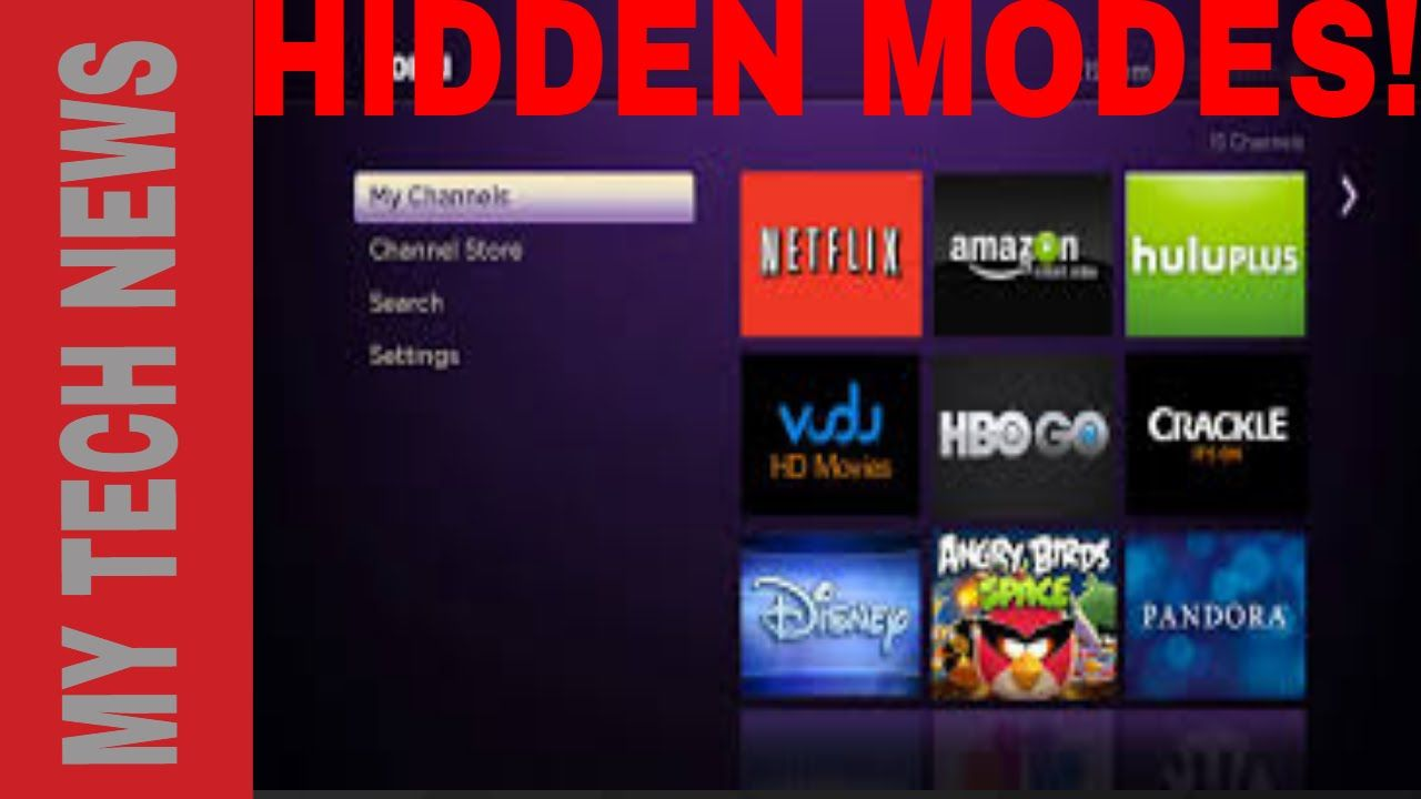 HOW TO ACCESS HIDDEN FEATURES ON THE ROKU Roku streaming