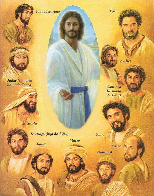 Quienes Fueron Los Doce Apostoles De Jesus Con Imagenes