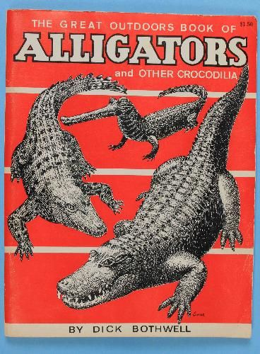 icollect247.com Online Vintage Antiques and Collectables - Alligator and Crocodile book Souvenir Collectibles-State and