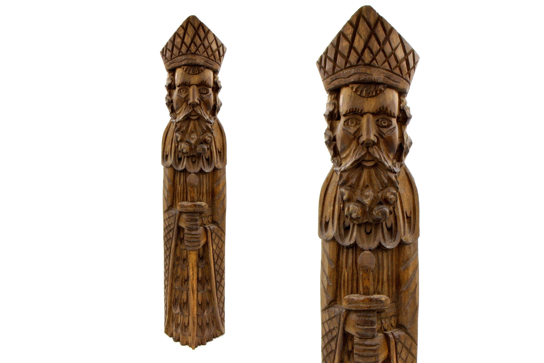 Charmant Magic Pagan Slavic Statue, Tribal Wooden Sculpture, Perun Slavic God,  Domovoi Amulet For Home Decor, Slavic Wood Sculpture, Medieval Europe Art,  ...