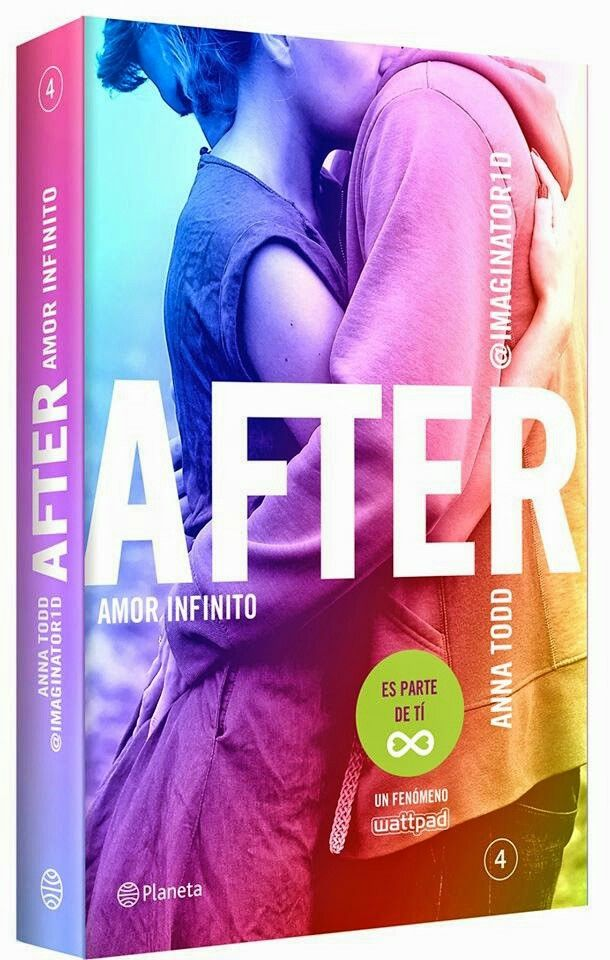 Anna Todd After Amor Infinito 4 Books Amor Anna