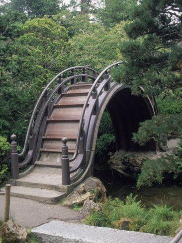 Bridge, Japanese Garden, Golden Gate Park, CA Bridge, Japanese and - chinesischer garten brucke