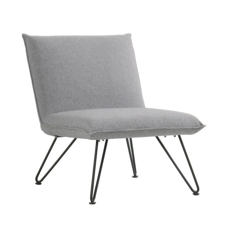 Best Fletcher Gray Fabric Design Armchair Fauteuil Design 400 x 300