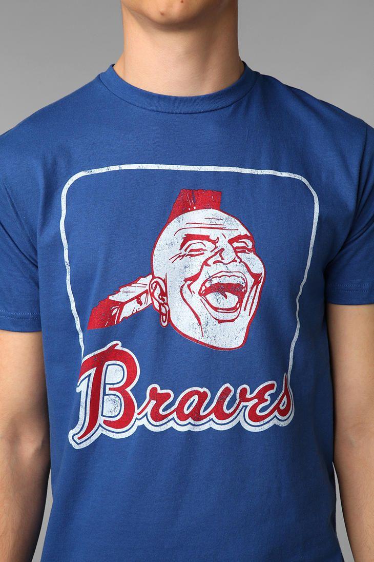 Mlb Atlanta Braves Tee Urban Outfitters Atlanta Braves Brave Tee Braves