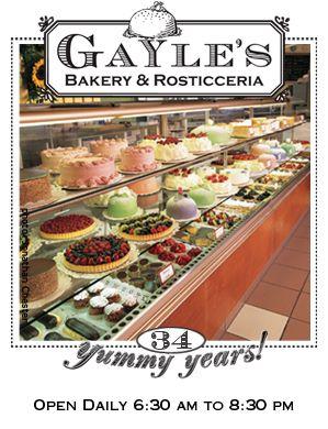 Gayles Bakery Voted Best Bakery In Santa Cruz Capitola Best Bakery Santa Cruz