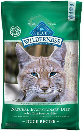 Blue Buffalo Wilderness Grain Free Dry Cat Food Duck Recipe