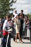 5th July, 2011: The Duke and Duchess of Cambridge on the sixth day of their tour of Canada. Prince William and Catherine at the official welcome in Yellowknife.