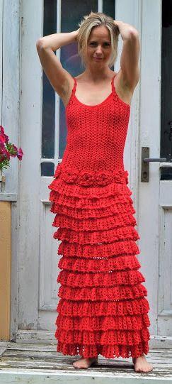 crochet dress by VivrutCrochet