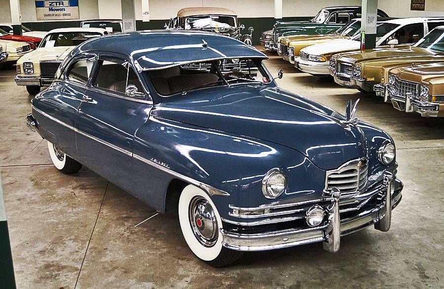1950 Packard Eight Deluxe Club Sedan | Old Rides 2 | Pinterest ...