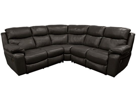 Harrier Harvey Furniture Corner Sofa Leather Sofa