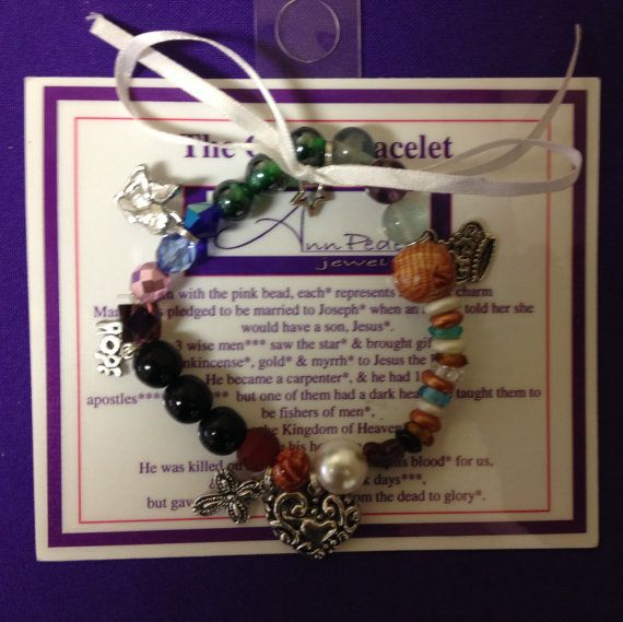 The Glory Bracelet  Jesus' Life told in Beads by AnnPedenJewelry