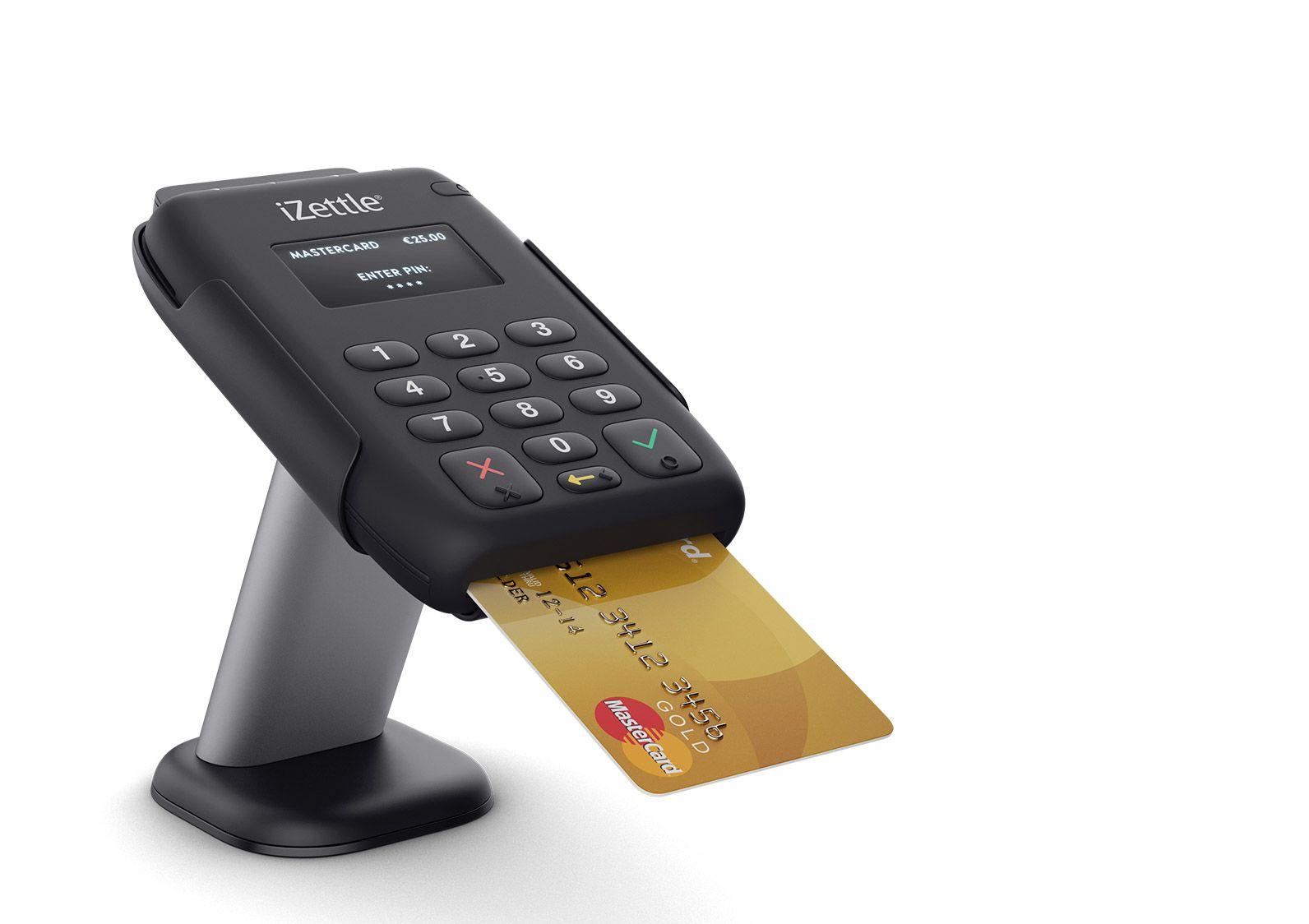 iZettle stand for pin pad | Stand for POS | Pinterest | Pos