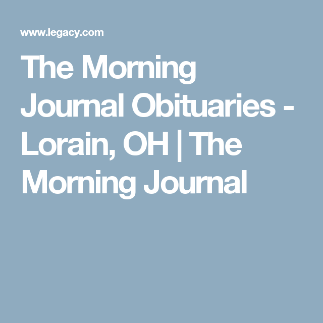 the morning journal lorain ohio