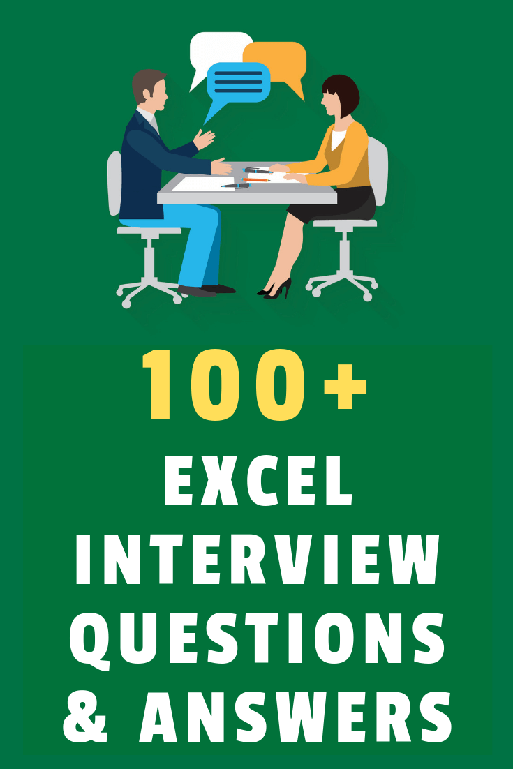 Prepping for your next interview? Here is a quick guide to make sure you're ready for any Excel interview question that can be asked.