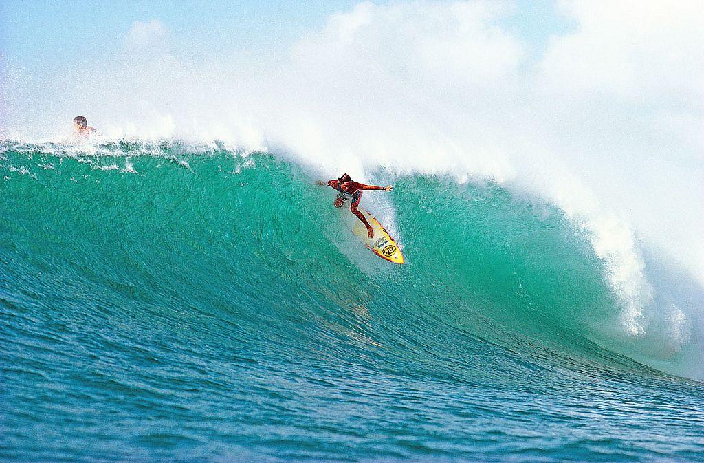 Mark Foo. 1984. Surfing photography, Sunset beach oahu