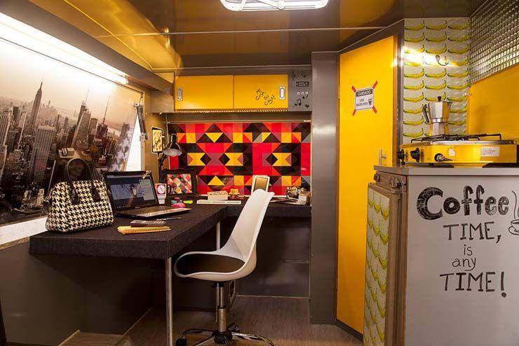 Galeria do Leitor DIY - Escritório trailer de arquitetura.