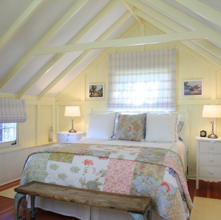 Holzbalken für die Dekoration des modernen Schlafzimmers - Wohnzimmer In Weis Und Braun
