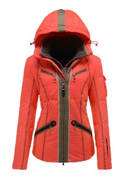 d57fa0d361 New Bogner Women 3089 Orange Kiki-D Ski Jacket