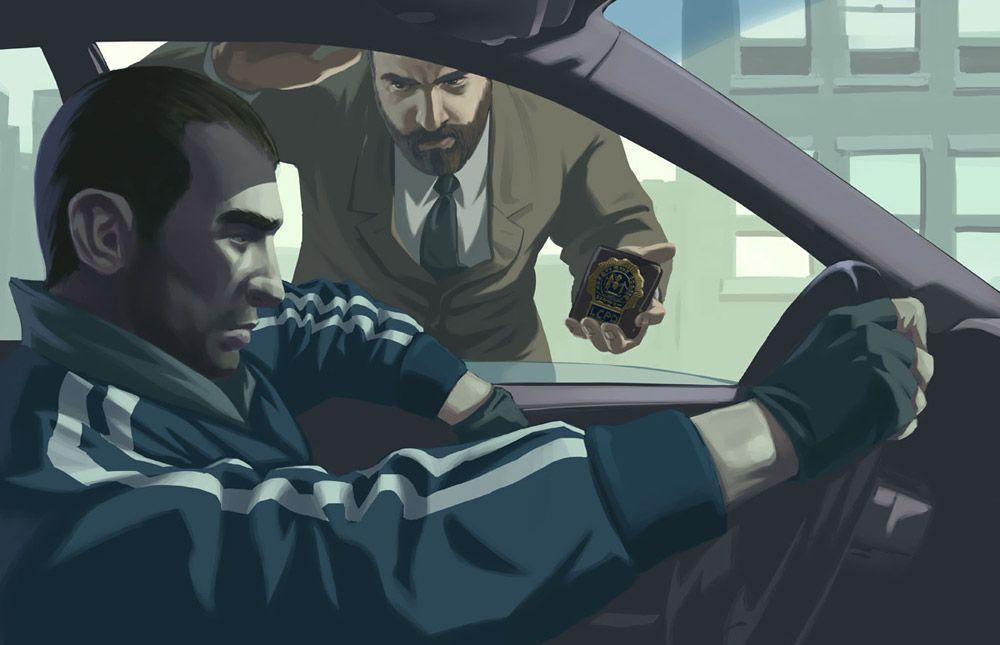Niko Bellic From Grand Theft Auto Iv Grand Theft Auto 4