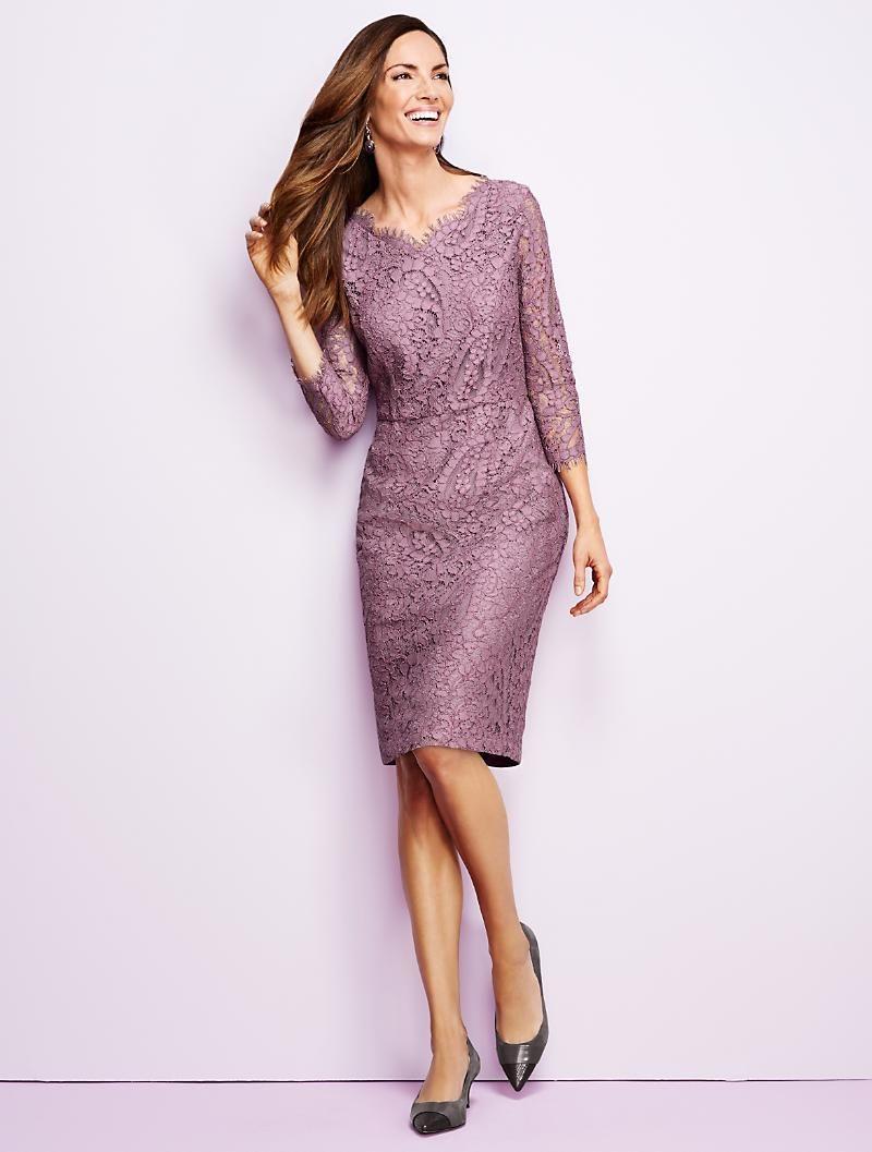 Talbots paisley lace sheath dresses dresses for Talbots dresses for weddings
