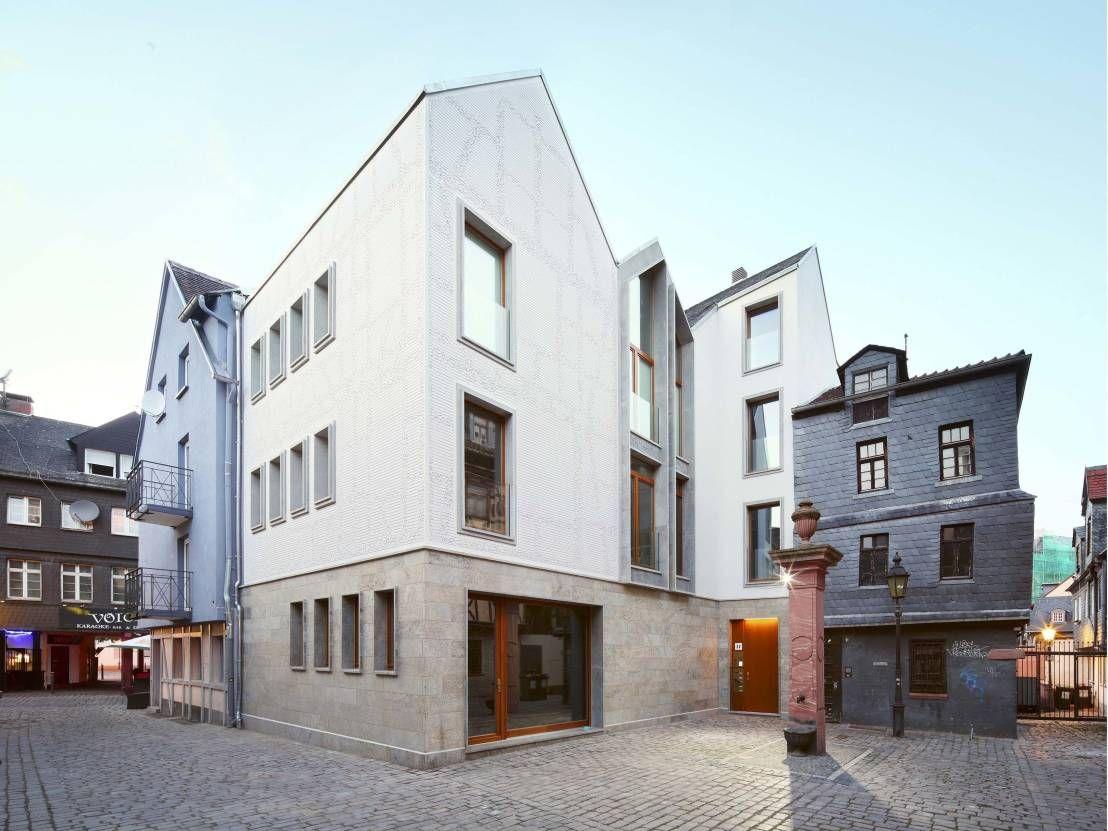 360 modernes wohn und atelierhaus in frankfurt