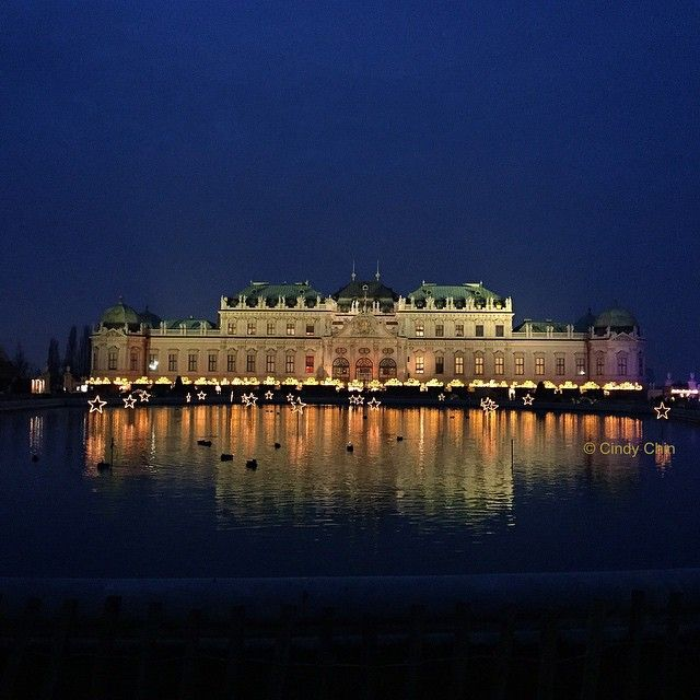 Belvedere Palace, Vienna. Photo courtesy of cindylchin on Instagram. #howiholiday