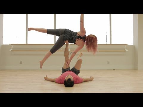 beginner acro yoga side star  youtube  power yoga