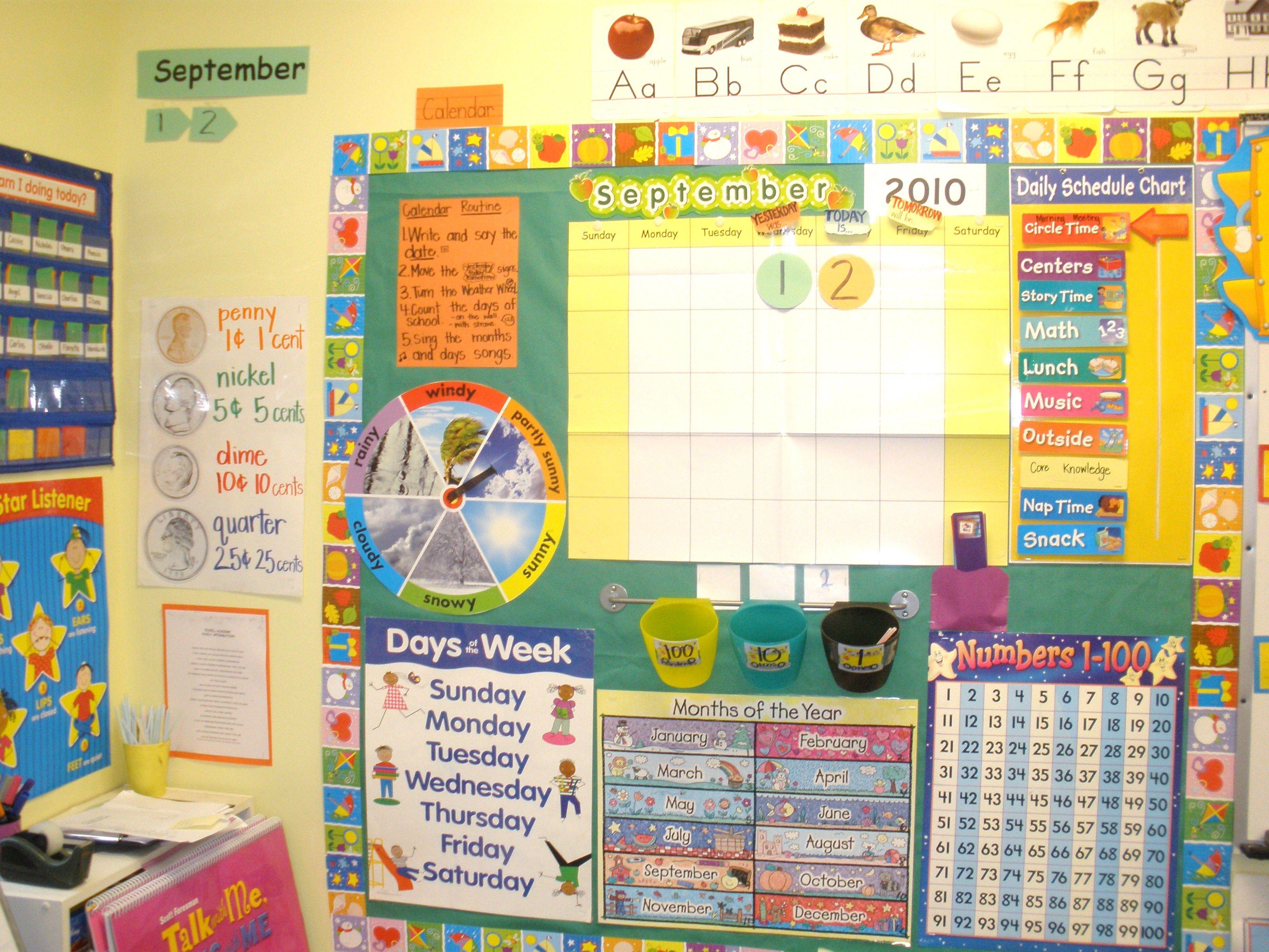 My Old Calendar Wall
