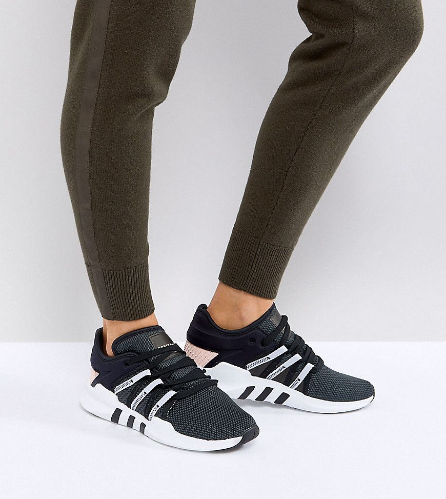 dbca2c091 ADIDAS ORIGINALS ADIDAS ORIGINALS EQT RACING ADV SNEAKERS IN BLACK AND PINK  - BLACK. #adidasoriginals #shoes #