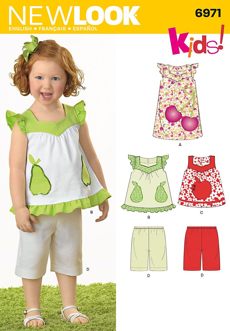 New look kids pattern toddler sewing pattern 6971 new look new look kids pattern toddler sewing pattern 6971 new look jeuxipadfo Choice Image