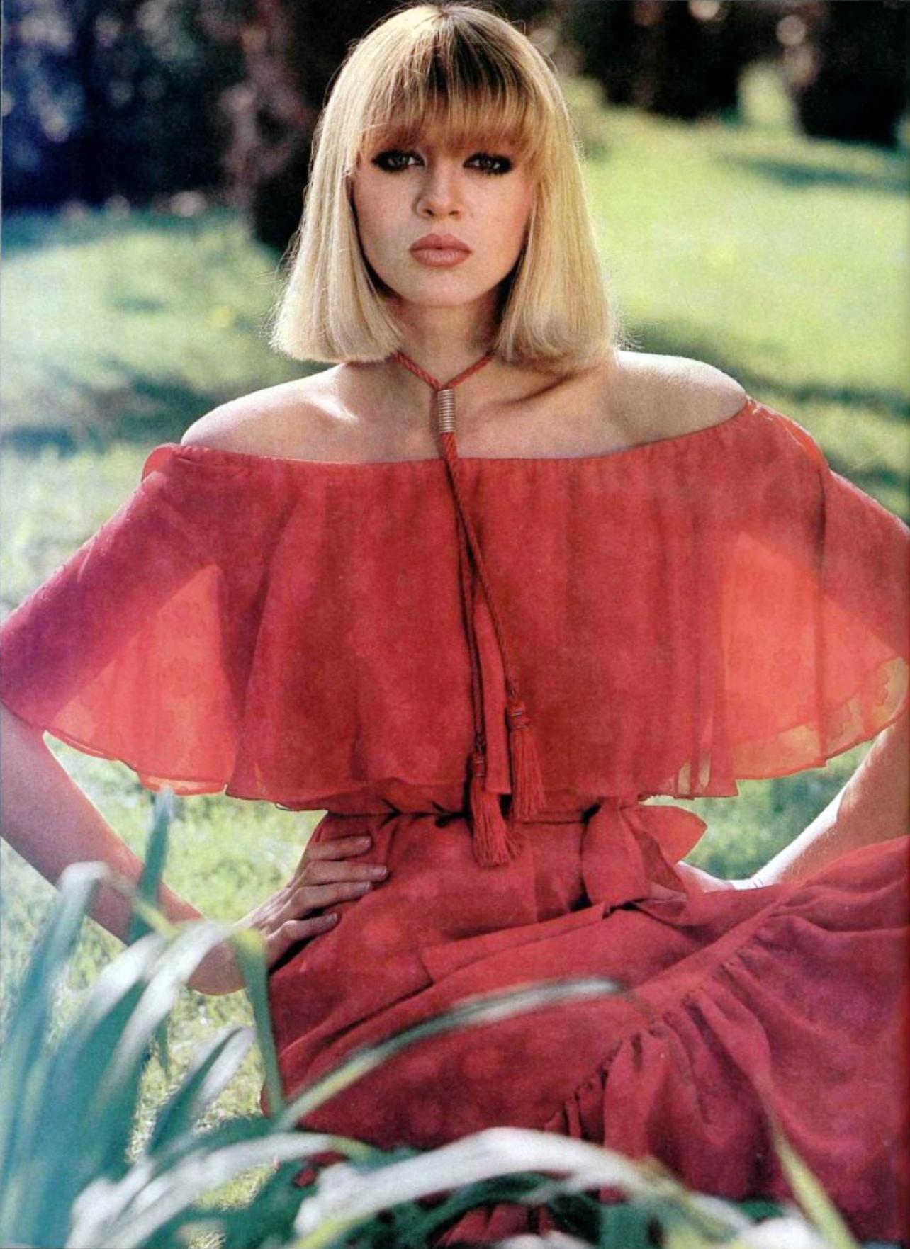 saint laurent rive gauche l 39 officiel magazine 1977 60s 70s pinterest mode yves saint. Black Bedroom Furniture Sets. Home Design Ideas