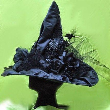 Handmade Halloween continues Witch Hats on Etsy   Handmade Spark · Halloween Decorating IdeasHalloween ... & Handmade Halloween continues: Witch Hats on Etsy   Handmade Spark ...