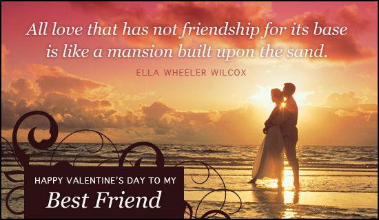 Free Best Friend eCard - eMail Free Personalized Valentine\u0027s Day