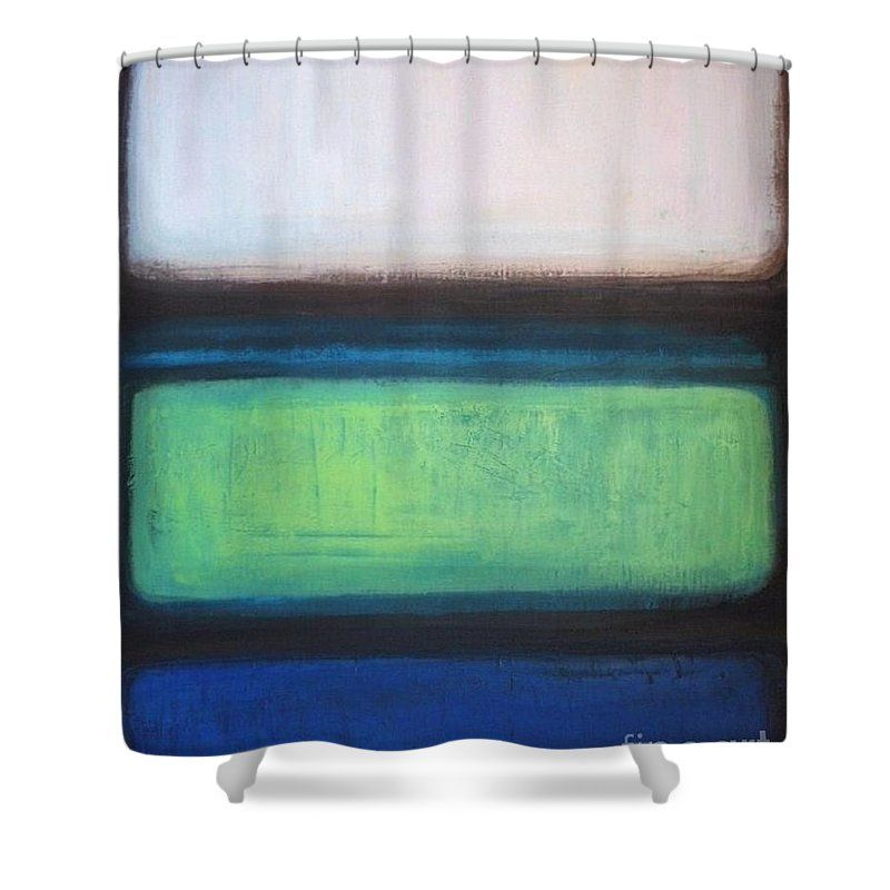 Green Effulgence Shower Curtain for Sale by Vesna Antic
