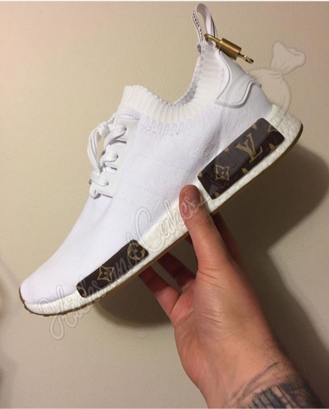 5a29d7611db80 Louis Vuitton NMD by  kicksandcakes Rate 1-10  customizerdepot - - Follow   shoutmynikes For A Dope Sneaker Feed