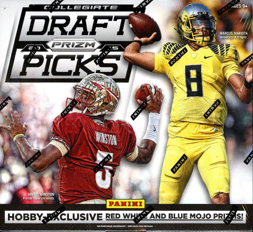 2015 panini prizm collegiate draft picks football pick a