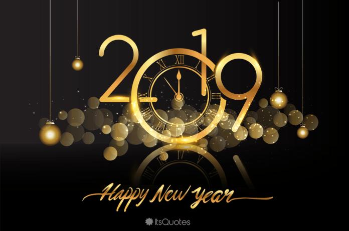 Selamat Tahun Baru 2019 kertas dinding  ul  Happy new year