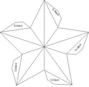 Te Mostramos Como Hacer Estrellas De Papel En 3d En 2d Y Unas Estrellitas De Origami Muy Faciles Estrellas De Papel Estrellas De Origami Moldes De Estrellas