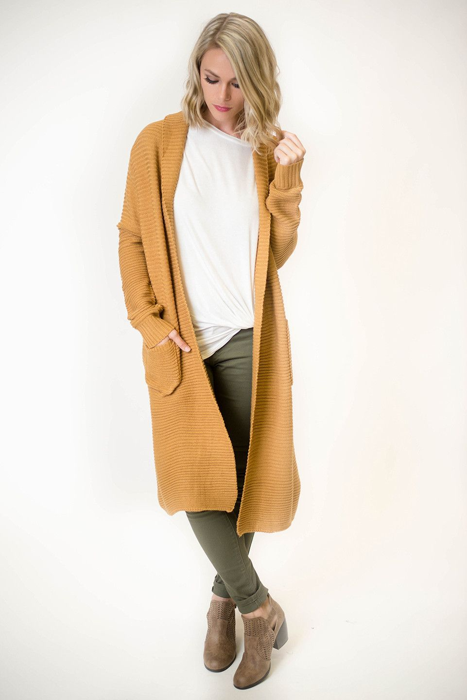 Camel Ribbed Duster Cardigan | Dusters, Camels and Open cardigan
