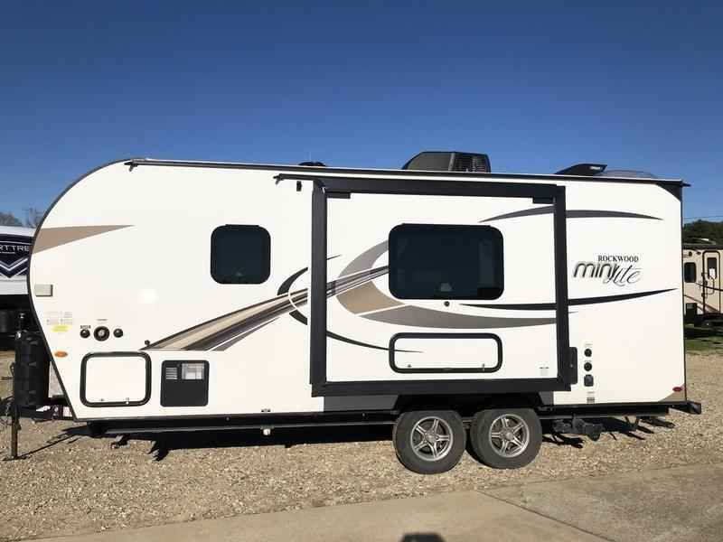 2019 Used Forest River Rockwood Mini Lite 2109s Travel Trailer In