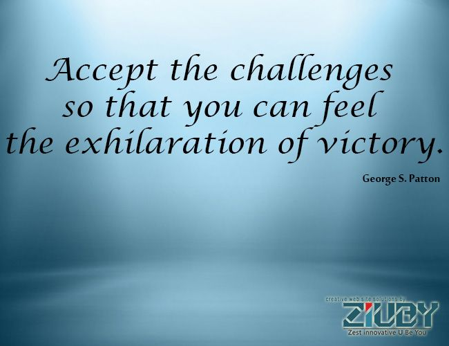 By Ziuby Accept Challenges  By WwwZiubyCom  Ziuby Quotes